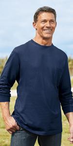 NEW Mens KING SIZE Big /& Tall Hunter Camo Style Henley Long Sleeve Waffle Shirt