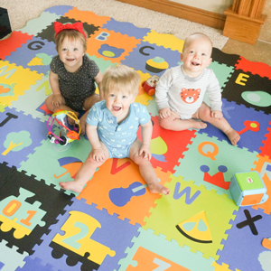 interlocking baby play mat