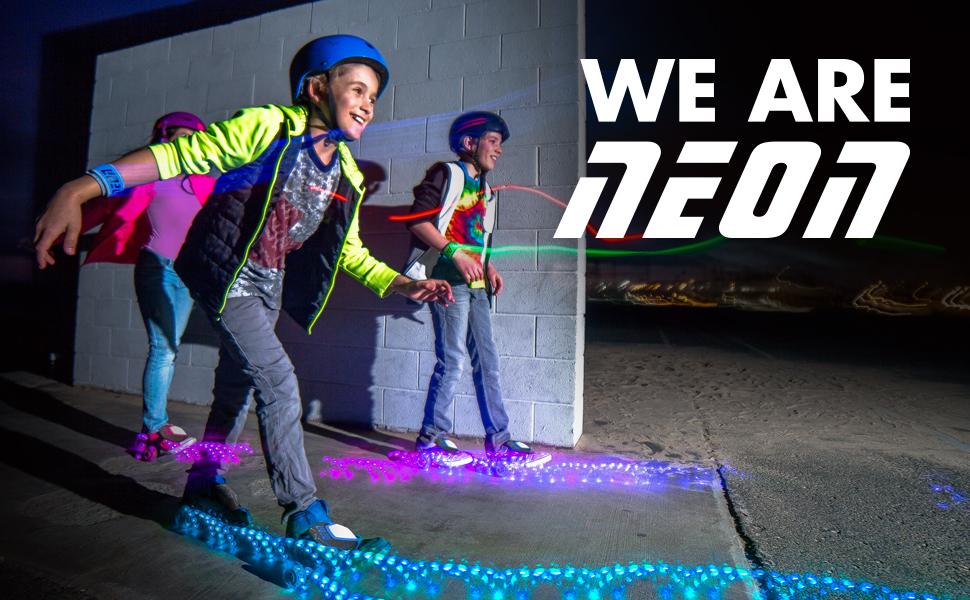 neon street rollers pop n lock