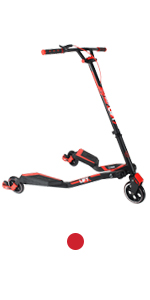 Amazon.com: Yvolution Y Flyer Kids Pedaling Stepper Scooter ...