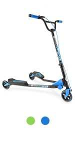 Amazon.com : Yvolution Y Fliker Flow F1 Scooter, Pink ...