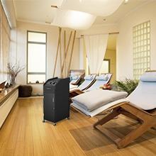 Amazon.com: Carrito negro para salón de belleza o spa ...