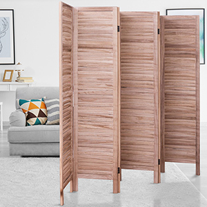 Amazoncom Giantex 6 Panel Screen Room Divider Wood Folding
