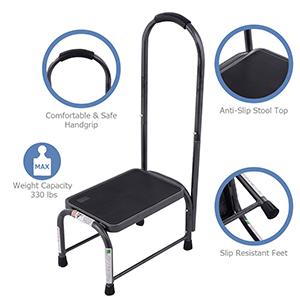 multifunctional step stool