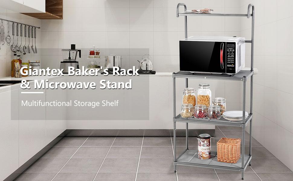 Giantex Baker's Rack & Microwave Stand