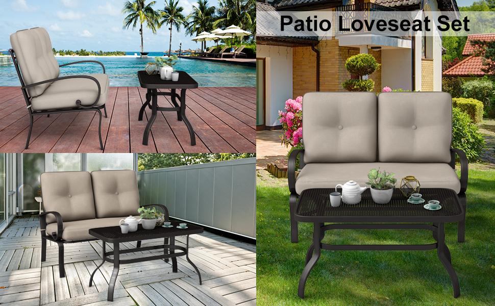 patio loveseat