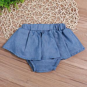 baby denim skirt set baby tutu dress baby short set baby blue clothes