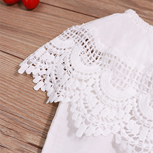 baby lace clothes baby off shoulder clothes baby white clothes