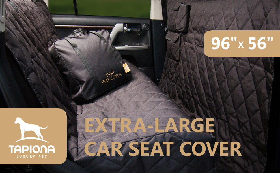 Pet Seat Cover XL Extra Large Dog 96x56 For Any Cars Trucks SUVs