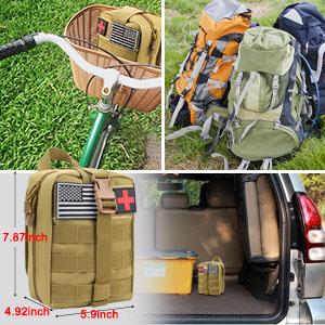 Smaller tactical EMT pouch