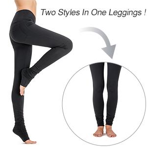 Amazon.com: NAVISKIN Leggings de yoga de cintura alta para ...
