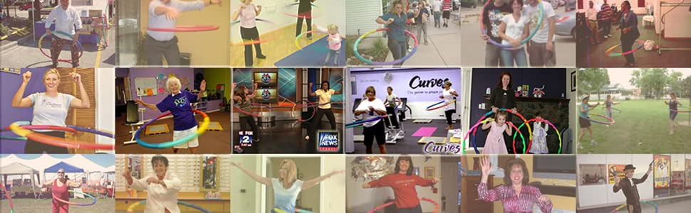 Large Sports hula hoop community, clubs, news, article, family and friend activity