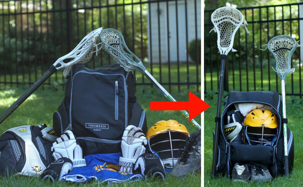Large Lacrosse Bag