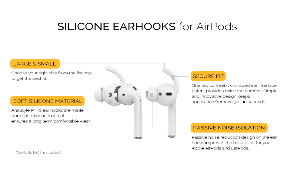 AirPods ear hooks