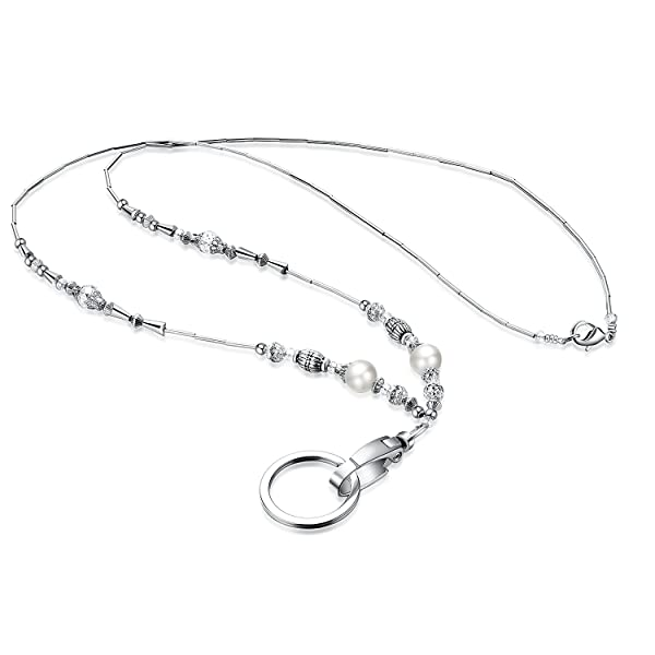 silver necklace statement georgia lanyard station colored products multi crystal