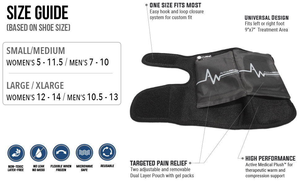 activewrap ankle ice pack