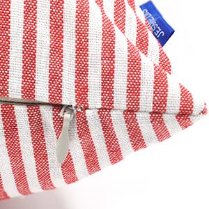 Throw pillows striped