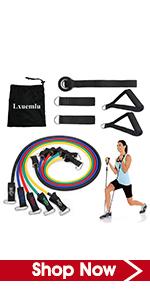 PoeHXtyy Home Fitness Elastic /Übung Strap Resistance Band Over Door Anchor Pull Rope Door Buckle