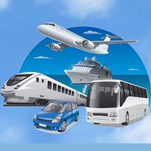 Pillow for bus, car, airplane train