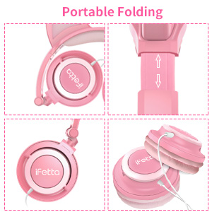 Foldable Kids Headphones