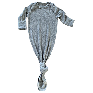 195b6a03388b9 Lucky Love Baby Gown Newborn, Knotted Infant Sleeper for Baby Girl and Boy