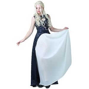Khaleesi Dress Navy Blue