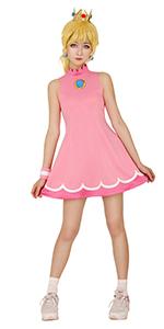Princess Peach Tennis Dress