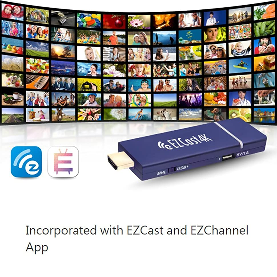 Ezcast 4k X 2k Hdmi Wifi Display Dongle Receiver 24g 5g Anycast Wireless Hd Mirroring Is The Worldwide 1st 4kx2k Which A Media Streaming Device That Plugin Into Port On Your Tv