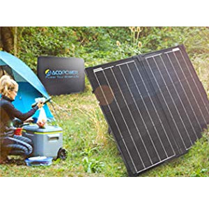 ACOPOWER,solar panel,solar panel all black,solar panel kits,100W solar panel,Charge Controller