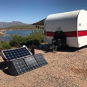ACOPOWER HY-3x35W18V2 12V Solar RV/Camper Boat Battery Charger