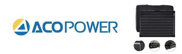 ACOPower 100W Waterproof Logo