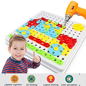 Kids stem toy