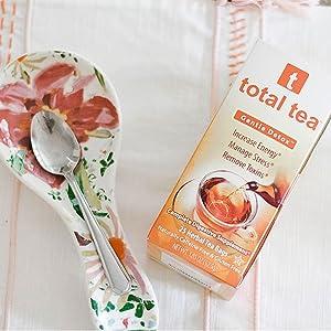 Total Tea Gentle Detox Tea - Herbal Tea - Cleanse Tea Supplement Weight Loss Tea