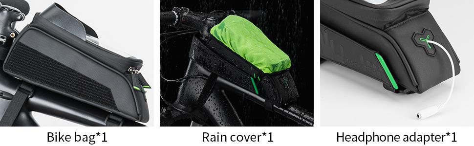 rockbros bike phone bag