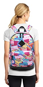 Student Campus Bookbag College School Backpack for Girl Fit 15 inch Laptop