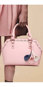 Purses and Handbags for Women Top Handle Satchel Hollow Out Large Tote