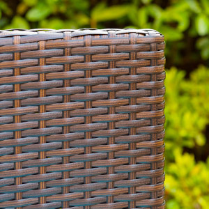 weather resistant wicker chairs