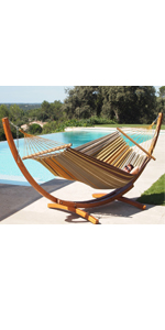 Amazon Com Lazy Daze Hammocks 12feet Wood Arc Hammock