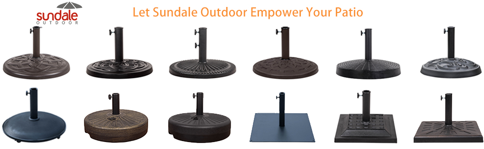 Amazon Com Sundale Outdoor 4 Pieces Heavy Duty Plastic Water Sand