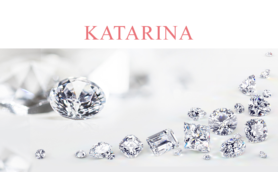 KATARINA Light Weight Channel Set Diamond Ring in 10K White Gold 1//10 cttw, G-H, I1-I2 Size-7.75