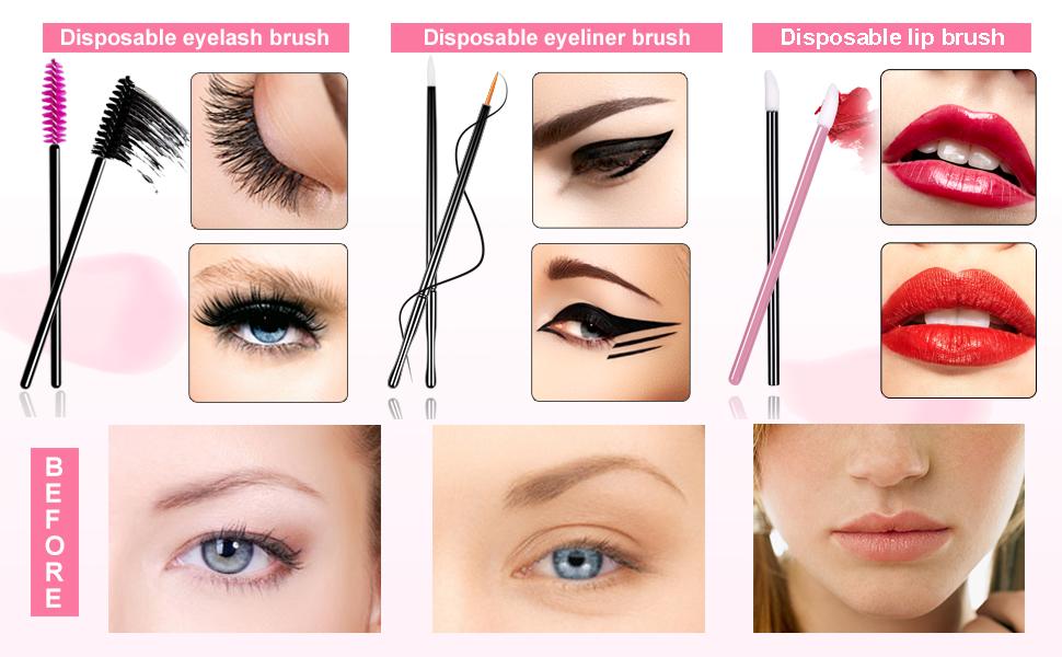 disposable makeup applicator