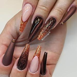 coffin fake nails