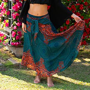 bohemian skirts, boho long skirts, elephant skirts, maxi skirt, bohemian boho maxi skirt, bohemian