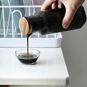 ceramic vinegar bottles jars olive oil dispenser bottle