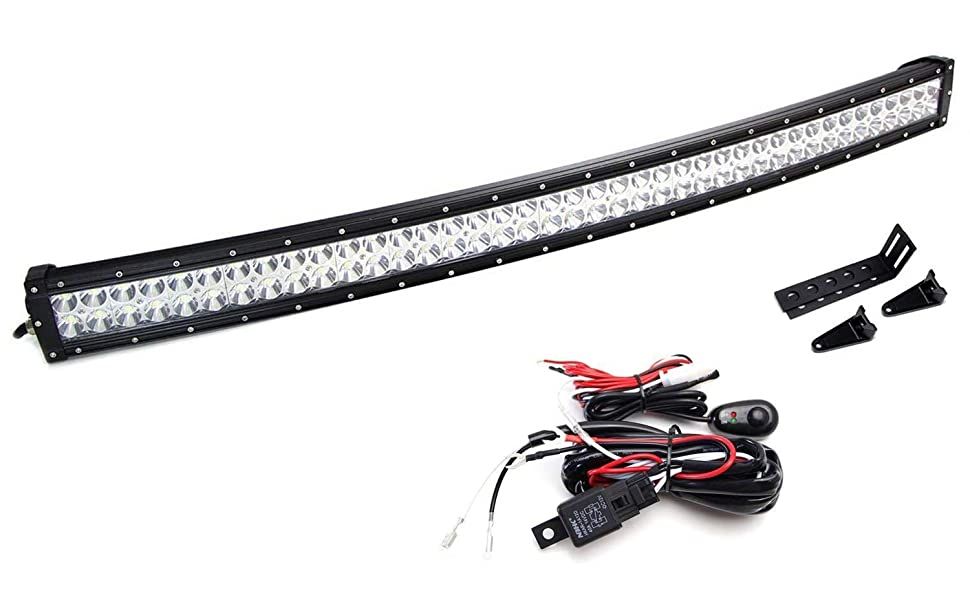 amazon com  ijdmtoy lower grille mount 40 u0026quot  led light bar kit for 2009