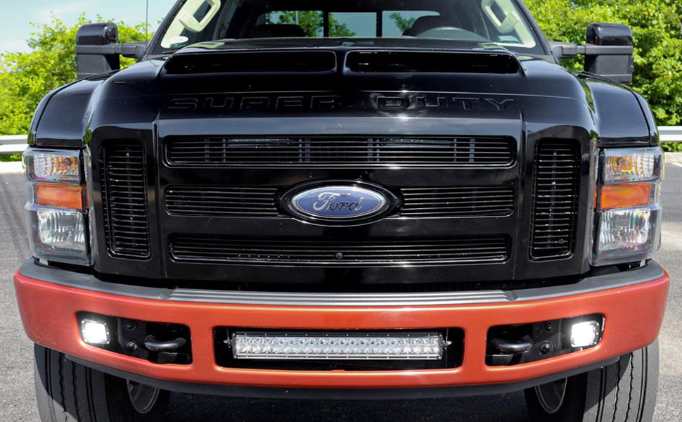 W High Power Led Fog Lights For The   Ford F  And F  Super Duty Series