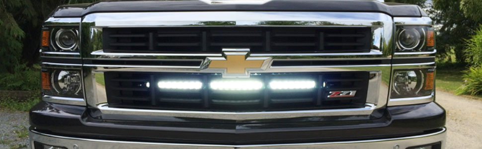 Amazon ijdmtoy 30 150w high power cree led light bar with behind grille mounted 30 150w high power cree led light bar for the 2014 16 chevy silverado 1500 2015 up chevy 2500 3500 hd aloadofball Choice Image