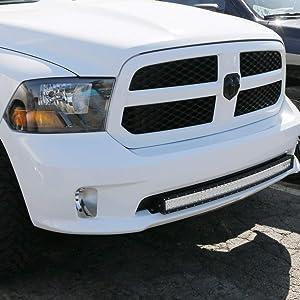 """40/"""" LED Light Bar Bumper Brackets for 2009-up RAM 1500 Express Sport Bumper"""