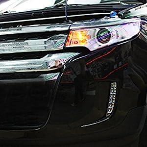 Ijdmtoy Switchback Led Daytime Running Lights For   Ford Edge