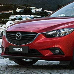ijdmtoy fog lamp kit with halogen bulbs and garnish bezel covers for 2014-2016  mazda